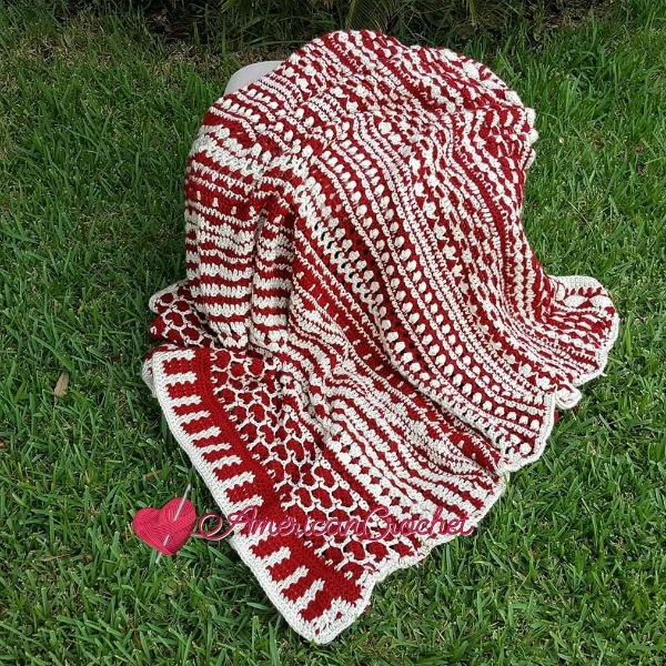 Wonder Crochet Blanket | Free Crochet Pattern | American Crochet @americancrochet.com #crochetalong #freecrochetpattern