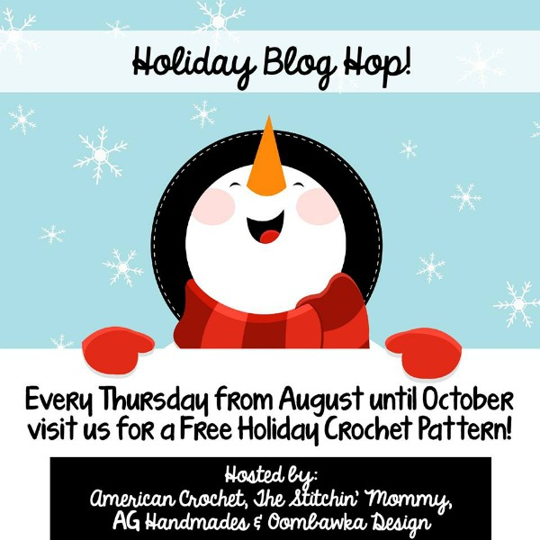 2015 Holiday Blog Hop - Free Holiday Crochet Patterns | American Crochet @holidaybloghop2015