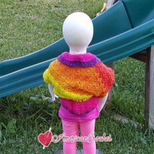 Cheyenne Shrug   Free Crochet Pattern   American Crochet @americancrochet.com #freecrochetpattern