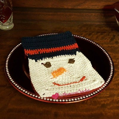 Frosty Dishcloth
