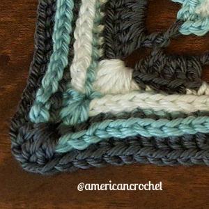 Maggie Circle in A Square | American Crochet @americancrochet.com