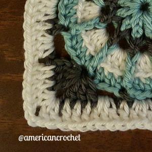 Judy Circle in A Square | American Crochet @americancrochet.com
