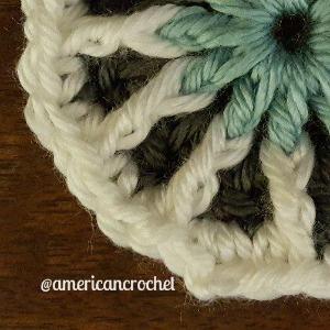 Louise Circle in A Square | American Crochet @americancrochet.com