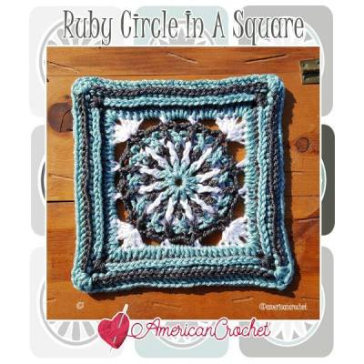 Ruby Circle in A Square