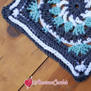 Kailey Circle in A Square | Free Crochet Pattern | American Crochet @americancrochet.com #freecrochetpattern #freecrochetalong