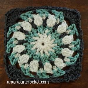 Robin Circle in A Square | American Crochet @americancrochet.com