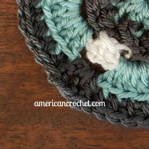 Lindy Circle in A Square | American Crochet @americancrochet.com