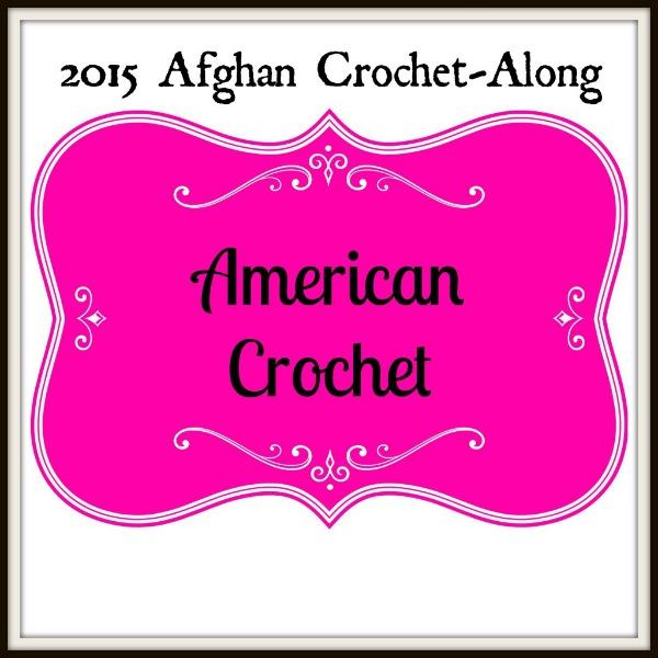 American Crochet Afghan CAL   American Crochet @americancrochet.com #freecrochetpatterns #2015afghancrochetalong