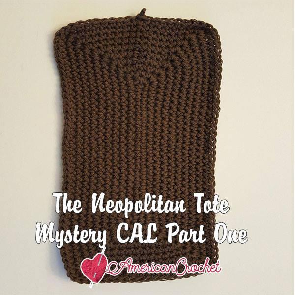 The Neapolitan Tote Part One | Free Crochet Pattern | American Crochet @americancrochet.com #freecrochetpattern #freecrochetalong