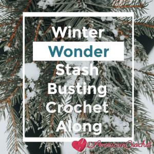 Winter Wonder Blanket | American Crochet @americancrochet.com #crochetalong