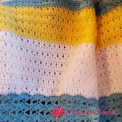 Winter Wonder Blanket Part Five