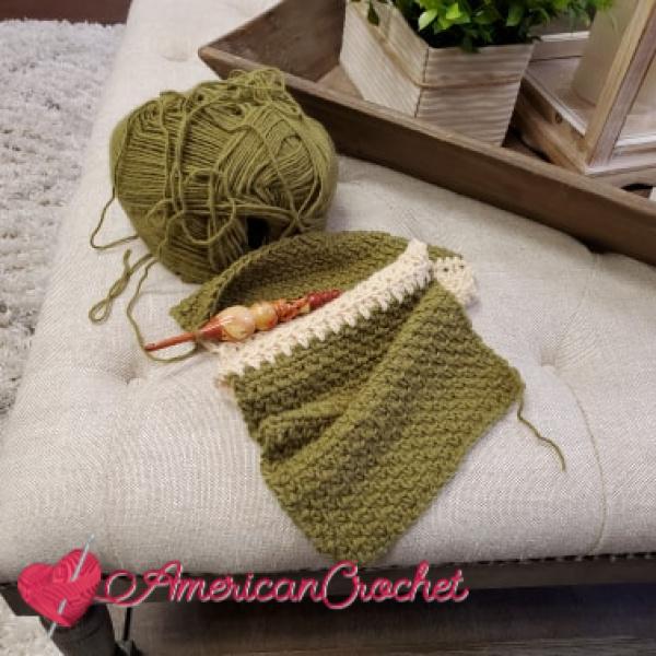 Hygge Charm Cowl CAL | American Crochet @americancrochet.com #crochetalong
