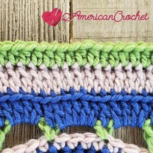 Stade Crossing   Crochet Pattern   American Crochet americancrochet.com #crochetalong