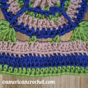 Acquaintance Square | American Crochet @americancrochet.com