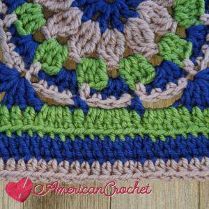 Enclave Square | Crochet Pattern | American Crochet @americancrochet.com #crochetalong