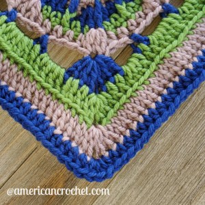 Hype Square | American Crochet @americancrochet.com #crochetalong