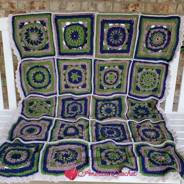 Riverwood Square Blanket