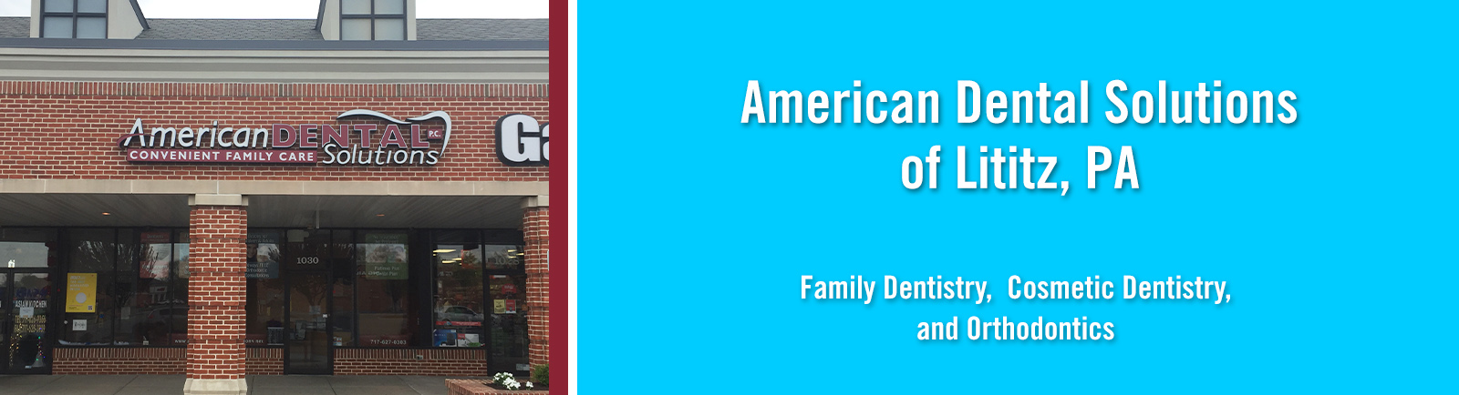 Lititz PA  American Dental Solutions