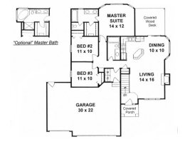 House Plans From 1200 To 1300 Square