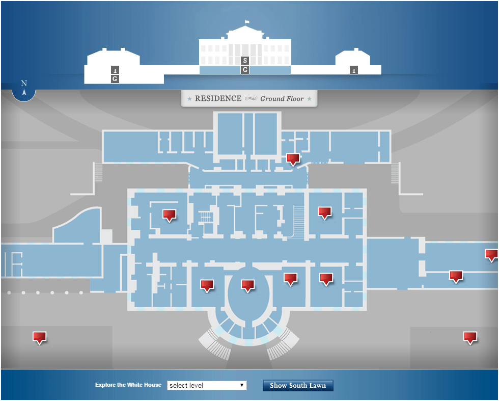 The White House Interactive Tour American English