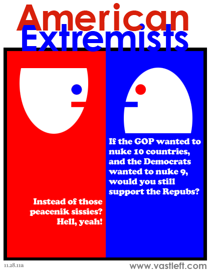 American Extremists - Nuclear option (red edition)