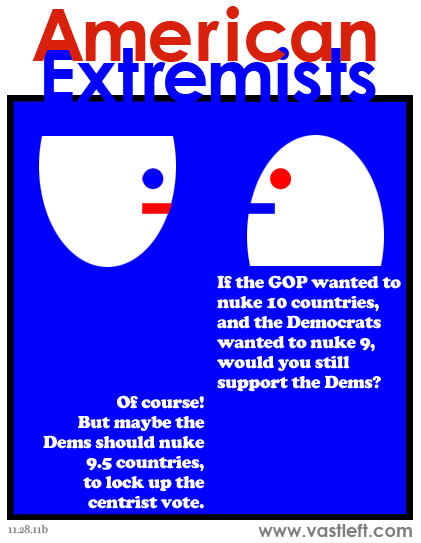 American Extremists - Nuclear option (blue edition)