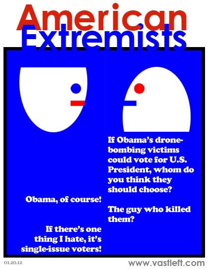 American Extremists - Ballot question