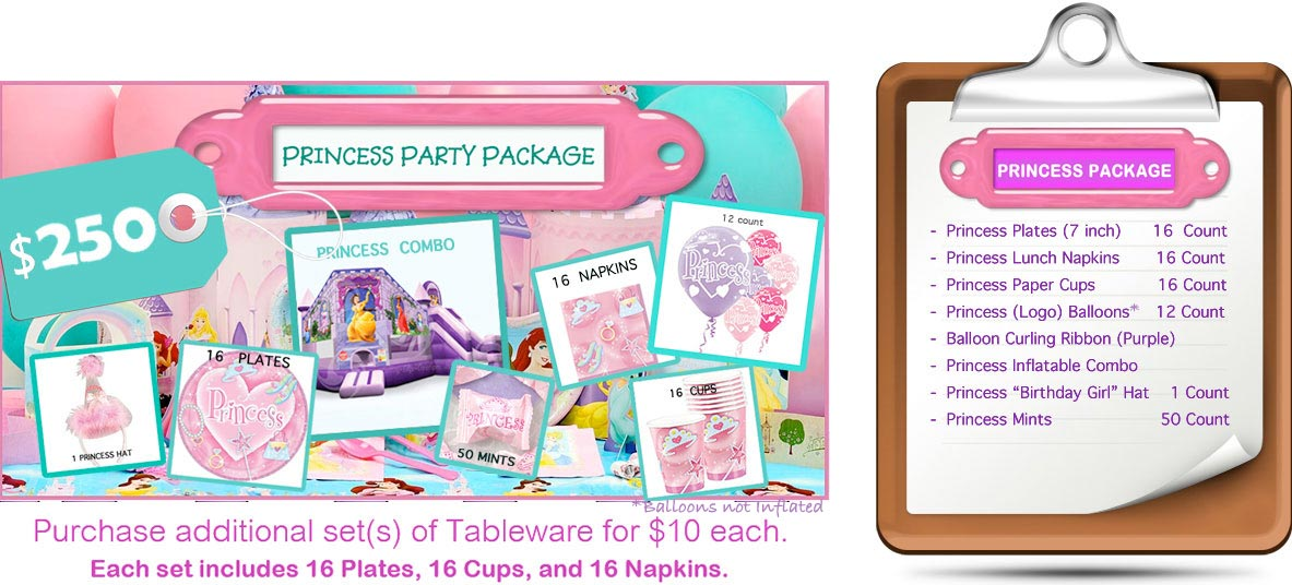 Party Rental Packages Inflatables Concessions Bounce
