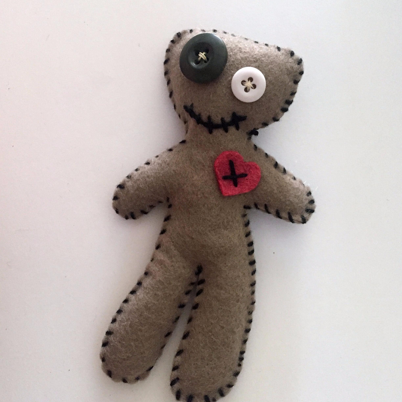 Felt Voodoo Doll Pincushion
