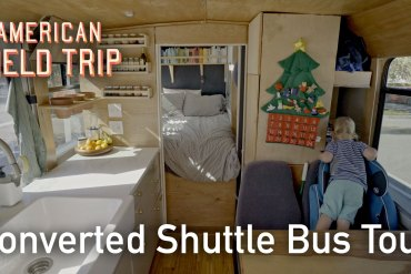 shuttle bus conversion tour