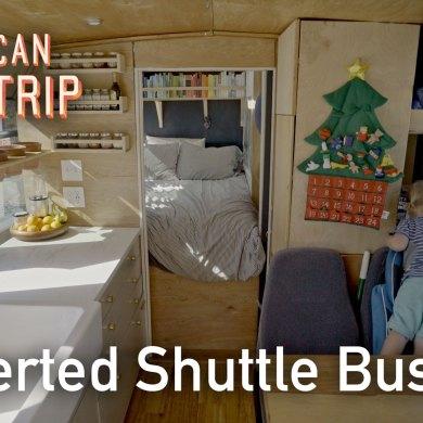 shuttle bus conversion tour