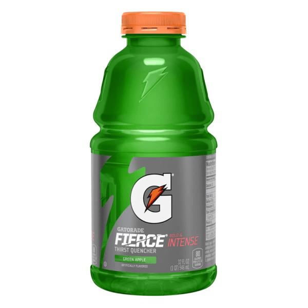 Gatorade Fierce Green Apple 32oz 946ml - American Fizz