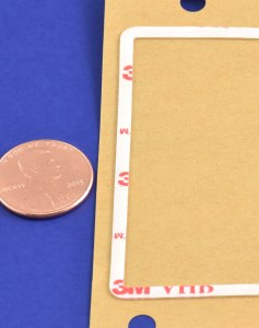 3M VHB adhesive, custom manufactured and die cut/kiss cut by American Flexible Products.