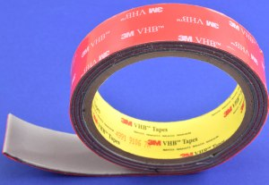 3M VHB slit to width roll, custom manufactured by American Flexible Products.