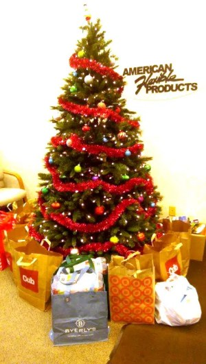 american flexible products holiday office christmas tree