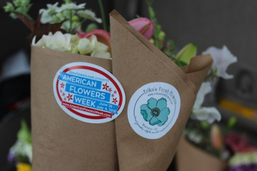 American Flowers Week + Erika's Fresh Flowers = Local and Sustainable Beauty