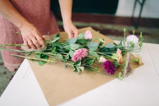 Take-home bouquets (c) Angela Zion