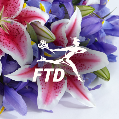 FTD lily badge