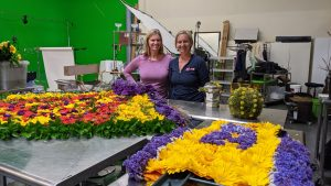 production at Flower Duet
