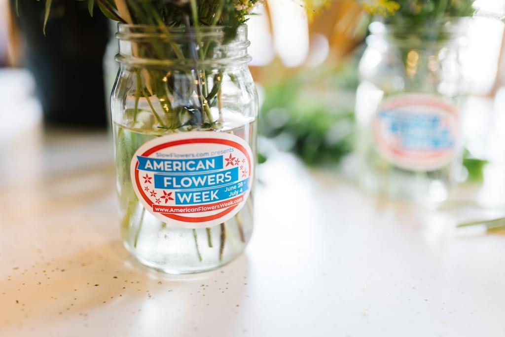Emerald Design for American Flowers Week