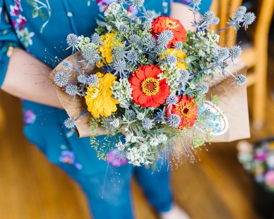 American Flowers Week bouquet