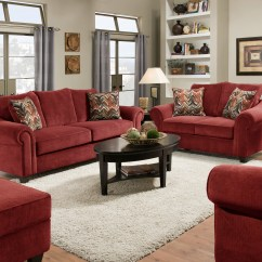 Burgundy Sofa And Loveseat American Leather Quality Furniture Manufacturing Masterpiece