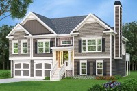 Split Foyer House Plans