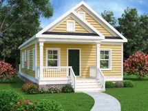 Traditional Plan 966 Square Feet 2 Bedrooms 1 Bathrooms