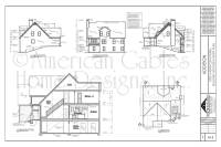 House Plan Examples - American Gables Home Designs