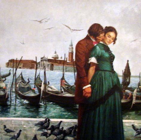 Gondolas and Venice