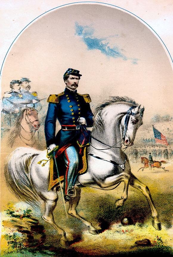 Major General McClennan's Grand March