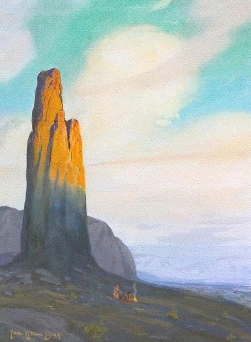 Needle Rock, Monument Valley