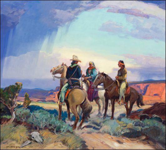 The Navajo Horsemen