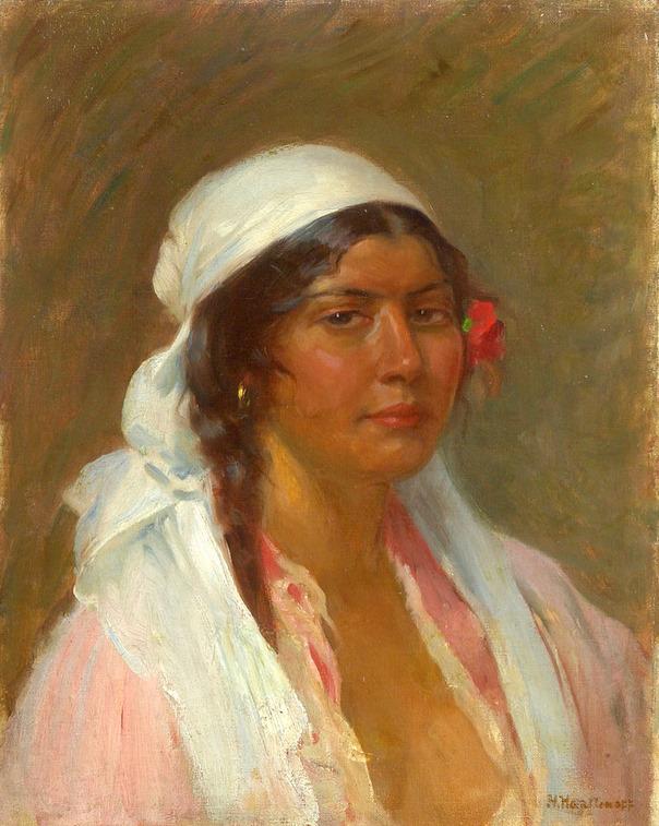 Portrait Of A Gypsy